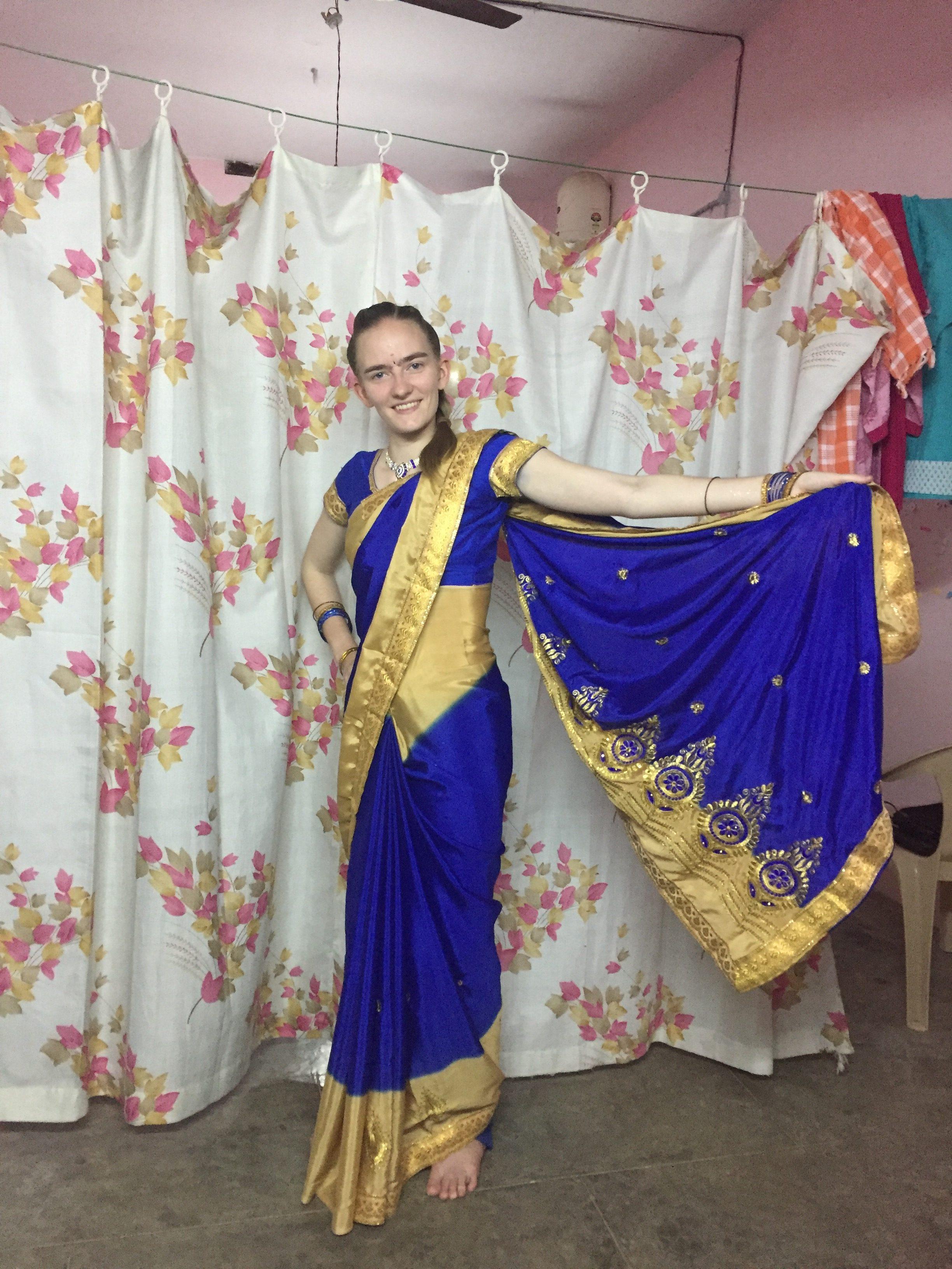 Mein eigener Sari